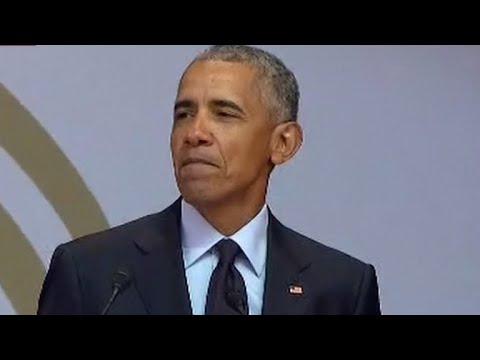 "Obama: ""Strongman politics are ascendant, suddenly"""
