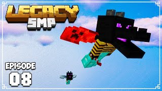 Legacy SMP - Ep. 08 - DOUBLE DRAGON FIGHT (w/ NashCrafter)
