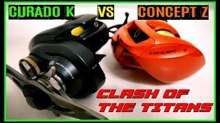 Video CONCEPT Z VS CURADO K: FINALLY... CLASH OF THE TITANS! 3/8 OZ CASTING PLUG FIELD TEST MP3, 3GP, MP4, WEBM, AVI, FLV Mei 2019