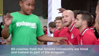 /MLSE Foundation's 2017-2018 Community Impact