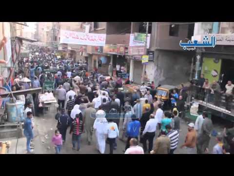 """مسيرة حاشدة في جمعة """"الشباب المسلم"""" بالوراق"""