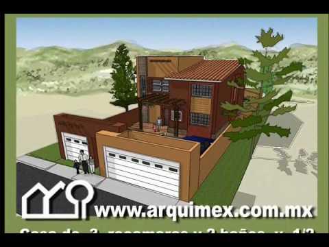 Planos casas team 39 s idea for Modelo de casa townhouse