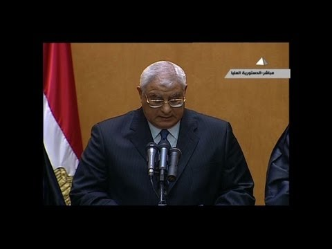 Egypt: Morsi out, Mansour in