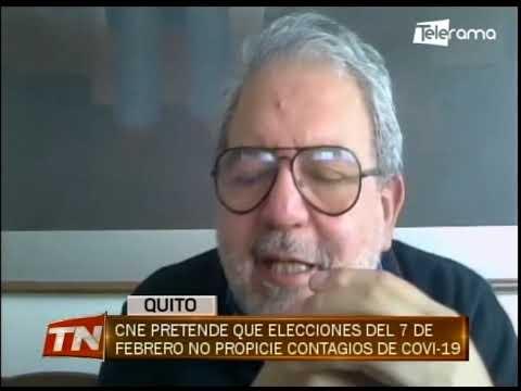 CNE pretende que elecciones del 7 de febrero no propicie contagios de covid-19