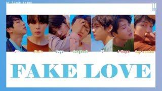 Video [COLOR CODED/THAISUB] BTS - Fake Love #พีชซับไทย MP3, 3GP, MP4, WEBM, AVI, FLV Juni 2019