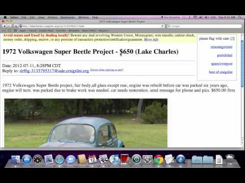 Craigslist Cars By Owner Miami Dade