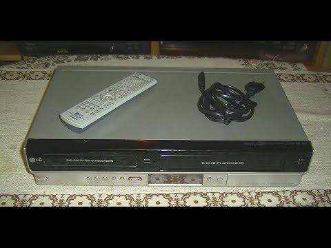 Funktionsprüfung  LG RC278 DVD-Recorder / VHS-Recorder Kombigerät,VCR/DVD combo