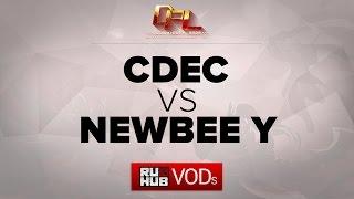 CDEC vs Newbee.Y, game 2