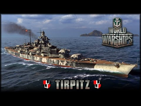 World Of Warships - Tirpitz - Die Einsame Königin Des Nordens [ Deutsch | Gameplay ]