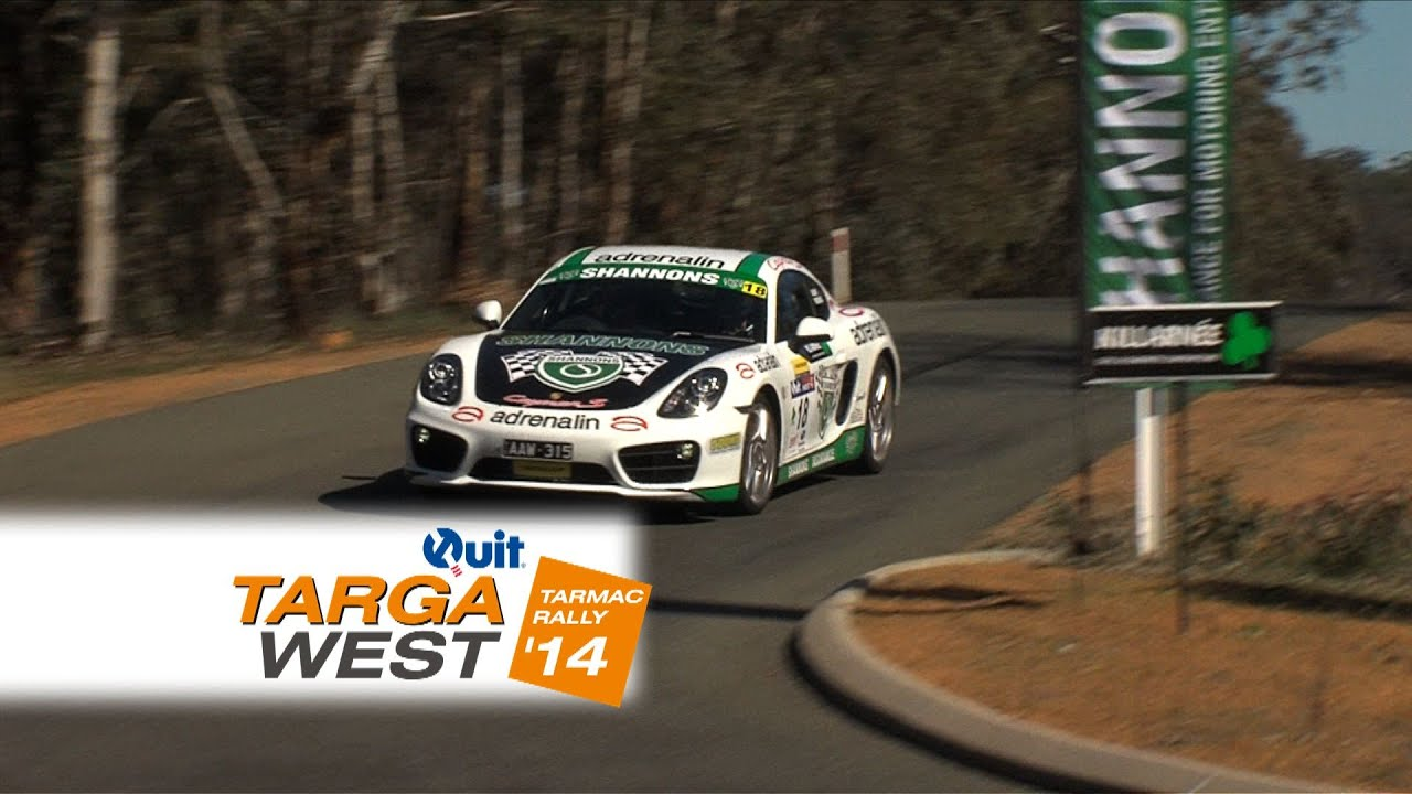 The Shannons Porsche – Quit Targa West 2014