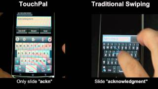 TouchPal Handwriting Pack YouTube video