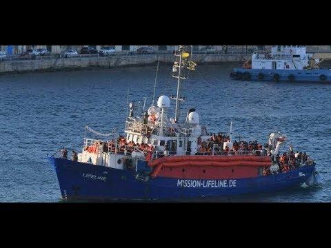 """MALTA: Beschlagnahmtes Rettungsschiff """"Lifeline"""" durchs ..."""