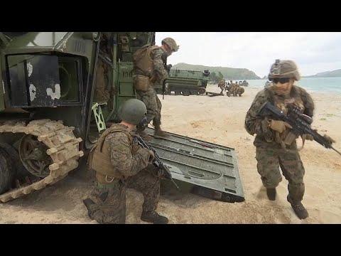 Thailand/USA: Gemeinsame Militärübungen in der Provinz Chonburi