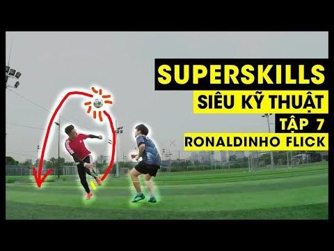 Ronaldinho Flick | SIÊU KỸ THUẬT - Ep. 7 | Tungage - Thời lượng: 79 giây.