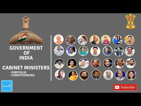 Cabinet Ministers of India 2017 with Photos