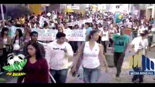 Caminhada pela Vida em Muriaé,MG no Dia Internacional da Luta Contra o Uso e o Tráfico de Drogas