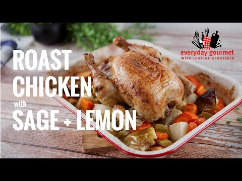 Tobbie Puttock's Roast Chicken with Sage and Lemon | Everyday Gourmet S7 E3