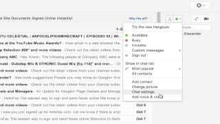 #12 [클라우드 오피스] 지메일 활용법 강좌 (영문) - How To Unblock Someone in Gmail Chat List Google Hangout