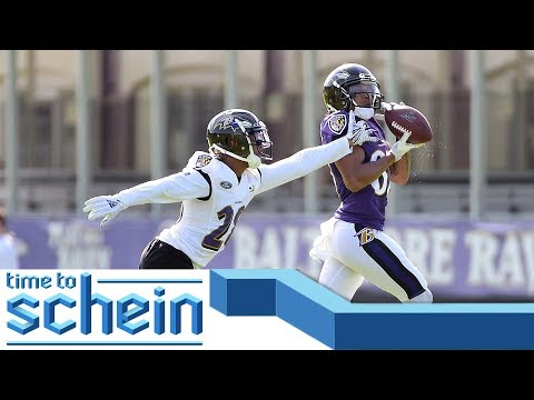 Video: Raven's positive takeaways from practice with the Jaguars | Time to Schein