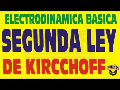 SEGUNDA LEY DE KIRCCHOFF