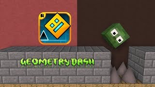 Monster School : Geometry Dash - Minecraft Animation
