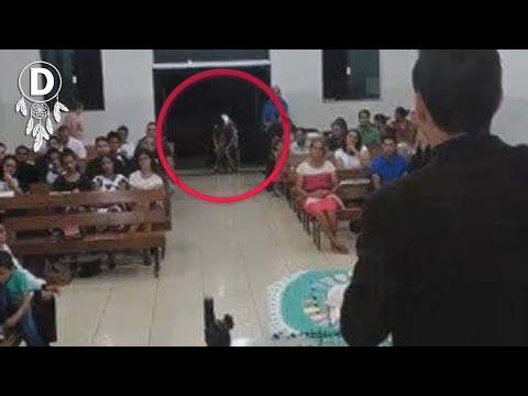 9 Fantasmas Reales Captados En Video.!!