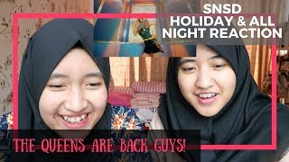 Video Girls' Generation - Holiday & All Night // MV Reaction (Indonesia) MP3, 3GP, MP4, WEBM, AVI, FLV September 2017