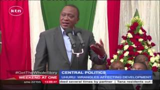 President Uhuru Kenyatta blasts Central Kenya leaders for being stumbling blocks to development