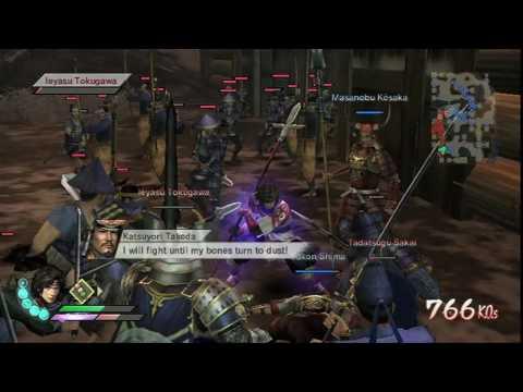 samurai warriors 3 wii test