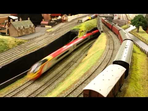 Pendolino at speed