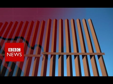 When America agreed on a border barrier - BBC News