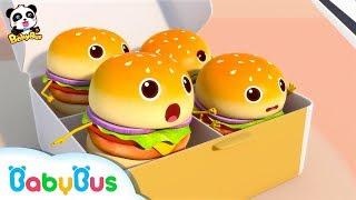 Video 햄버거들 길을 잃었어요~!   냠냠동요 연속듣기  베이비버스 인기동요모음 BabyBus MP3, 3GP, MP4, WEBM, AVI, FLV Juni 2019