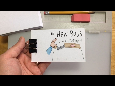 The New Boss A Flipbook Animation