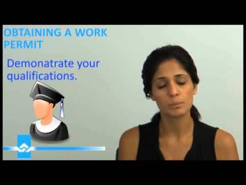 Obtaining a Canadian Work Permit Video