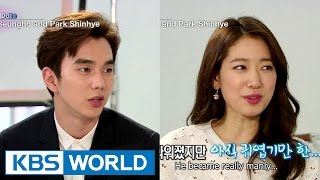 Video Yu Seungho and Park Shinhye's sweet date (Entertainment Weekly / 2015.04.10) MP3, 3GP, MP4, WEBM, AVI, FLV Januari 2019