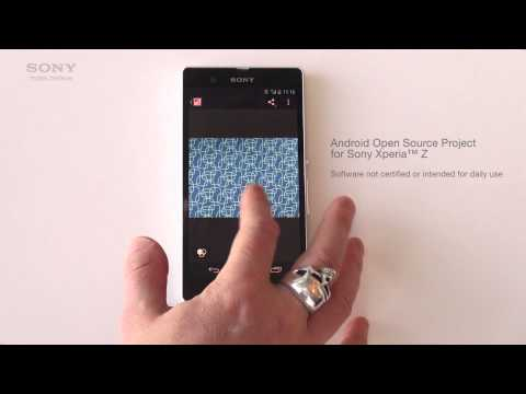 AOSP now available for Xperia™ Z on Sony's GitHub [open source + video]