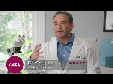 Why Dr. Craig Ziering Recommends Viviscal Hair Supplements