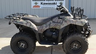 2. 2008 Kawasaki Brute Force 750I 4X4 Camo  Overview and Review! SOLD