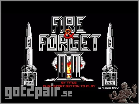 Fire & Forget II - Master System
