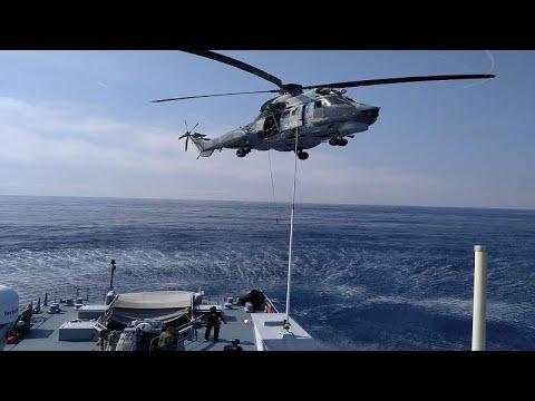 Χίος: Κοινή άσκηση έρευνας και διάσωσης Λιμενικού-Frontex-Αεροπορίας …
