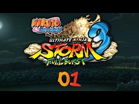 Naruto Shippuden: UNS3 Full Burst - Прохождение pt1 - Пролог: Нападение Девятихвостого