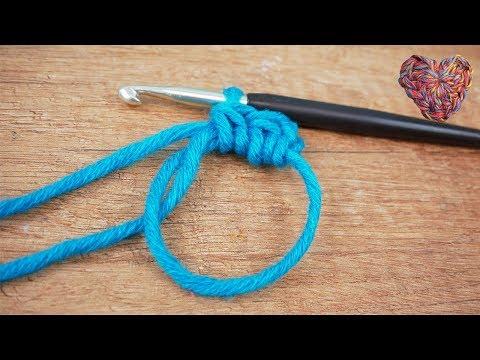 Magischer Ring *Neue Version* Häkeln lernen | Häkeln im Kreis | Anfänger einfach