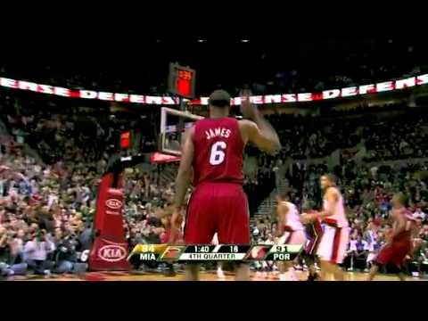 Miami Heat 107 – Portland Trail Blazers 100