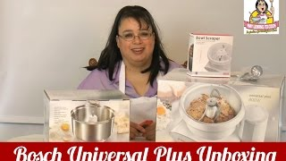 Bosch Universal Plus Mixer Unboxing MUM6N10UC ~ Amy Learns to ...