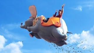 Action Movie Kid visits the Magic Kingdom