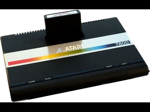 All Atari 7800 Games - Every Atari 7800 Game In One Video