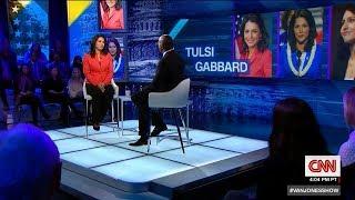 Full Interview: Tulsi Gabbard tells Van Jones why she's running in 2020