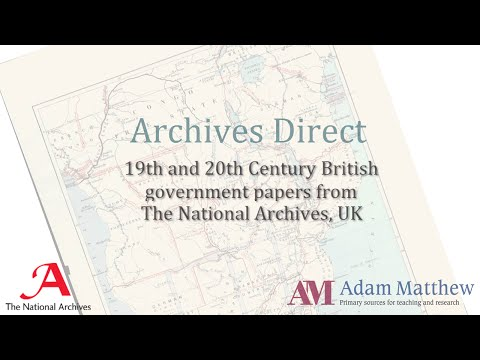 Overview: The Archives Direct Platform