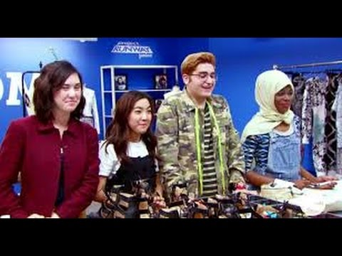 Project Runway Junior Season 2 Episode 9 Finale, Part One   YouTube