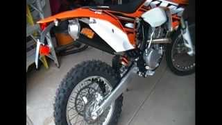 10. 2013 KTM 350 EXC-F FMF Exhaust Sound